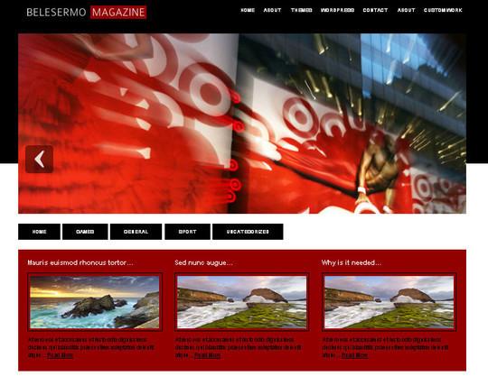 40 Beautiful 3 Column WordPress Themes For Free Download 37