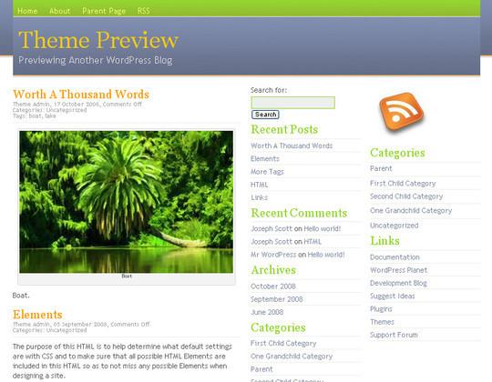 40 Beautiful 3 Column WordPress Themes For Free Download 39