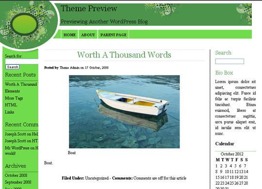 40 Beautiful 3 Column WordPress Themes For Free Download 40