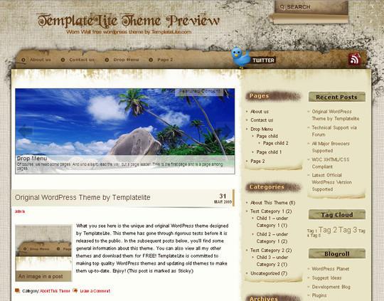 40 Beautiful 3 Column WordPress Themes For Free Download 10