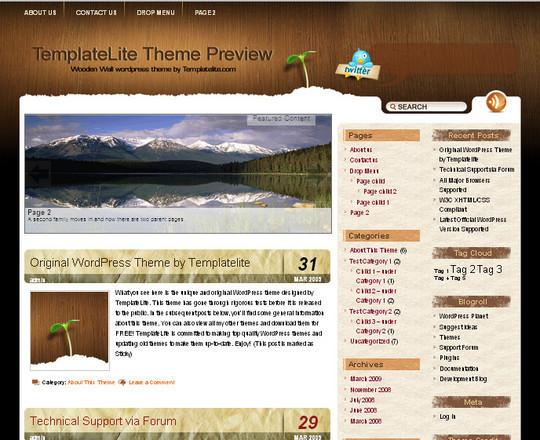 40 Beautiful 3 Column WordPress Themes For Free Download 11