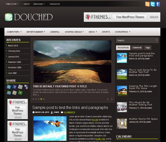 40 Beautiful 3 Column WordPress Themes For Free Download 16
