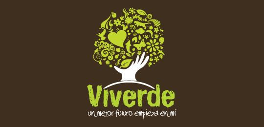 18 Beautiful Tree Inspired Logo Design 6