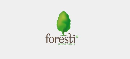 18 Beautiful Tree Inspired Logo Design 13