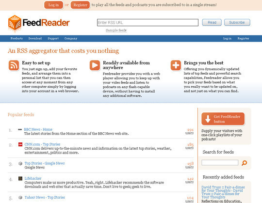 10 Best Alternatives To Google Reader 4