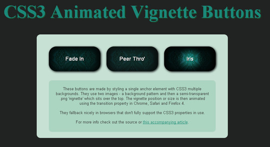 40 CSS3 Animated Button Tutorials And Experiments 10