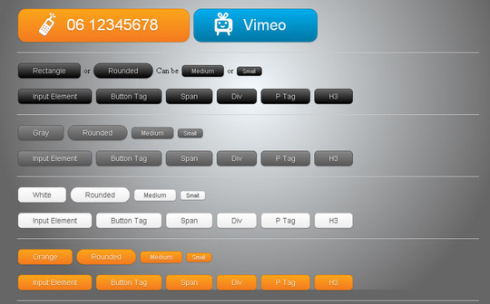 40 CSS3 Animated Button Tutorials And Experiments 23