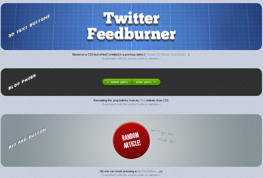 40 CSS3 Animated Button Tutorials And Experiments 24