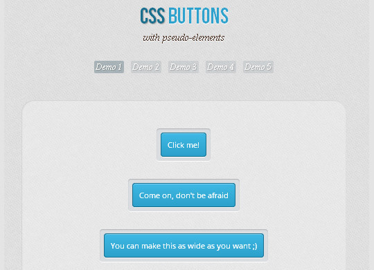 40 CSS3 Animated Button Tutorials And Experiments 27