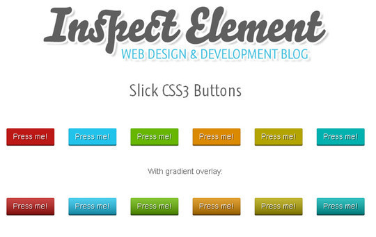 40 CSS3 Animated Button Tutorials And Experiments 4