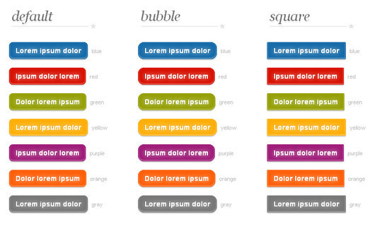 40 CSS3 Animated Button Tutorials And Experiments 31