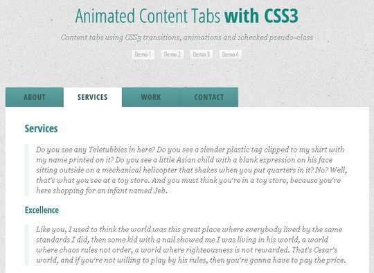 40 CSS3 Animated Button Tutorials And Experiments 8