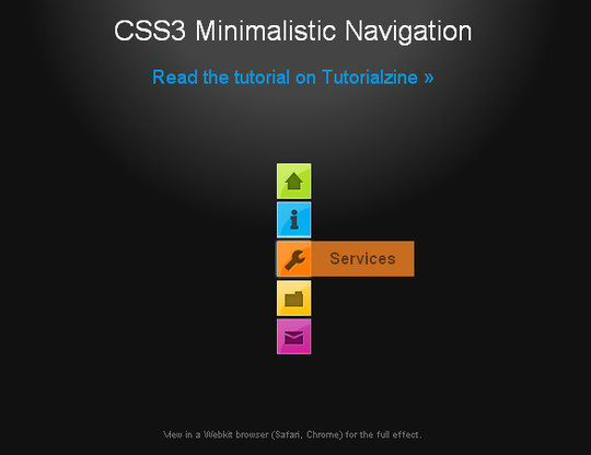 40 CSS3 Animated Button Tutorials And Experiments 35