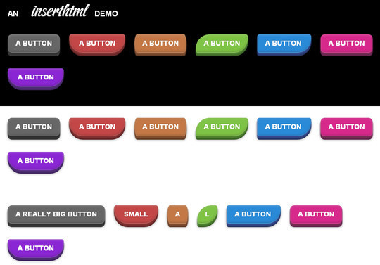 40 CSS3 Animated Button Tutorials And Experiments 39