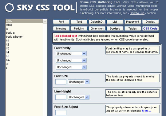 11 Useful CSS Tools To Speed Up Your Design Process 12