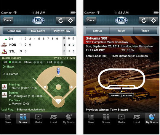 16 Best Free Sports Apps For iPhone And iPad 2