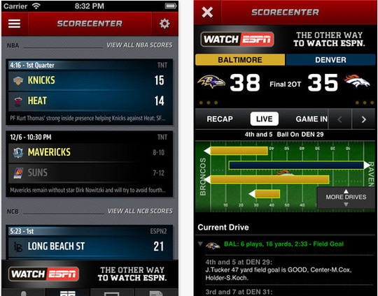 16 Best Free Sports Apps For iPhone And iPad 11