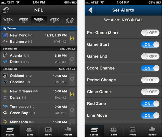 16 Best Free Sports Apps For iPhone And iPad 7