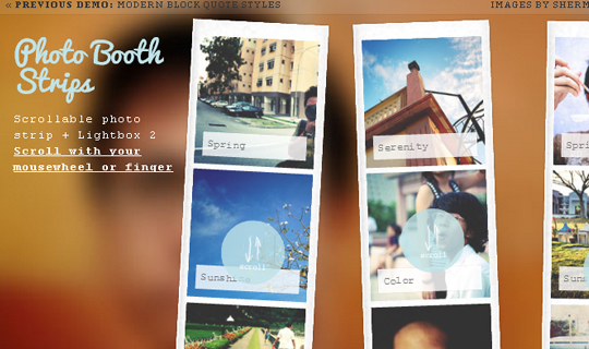 Showcase Of Fresh And Free jQuery Plugins And Tutorials 39