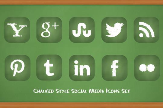 22 Fresh Social Media Icons (PSD & PNG) 20