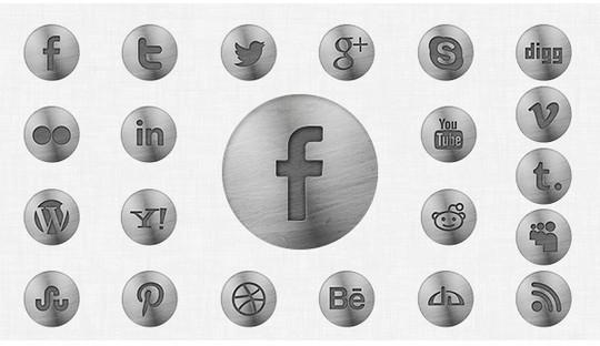 22 Fresh Social Media Icons (PSD & PNG) 4