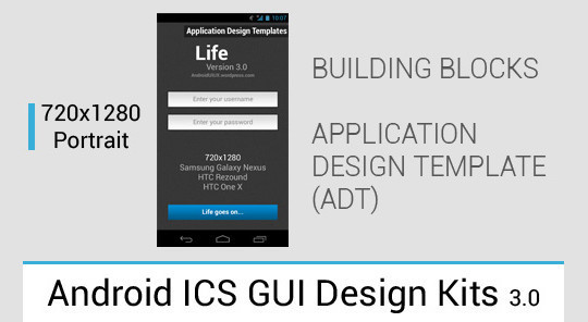 12 Useful And Free UI PSD Files For Android 5