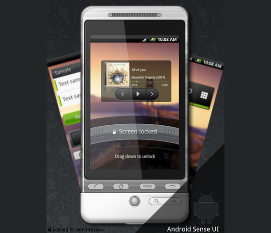 12 Useful And Free UI PSD Files For Android 9