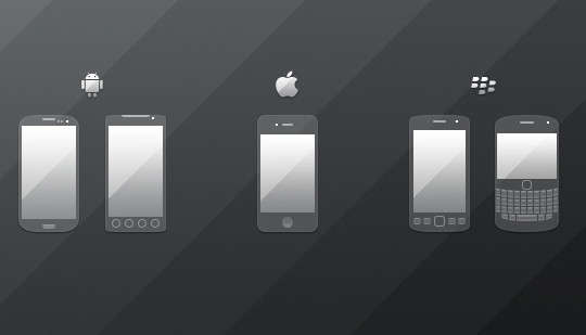 12 Useful And Free UI PSD Files For Android 10