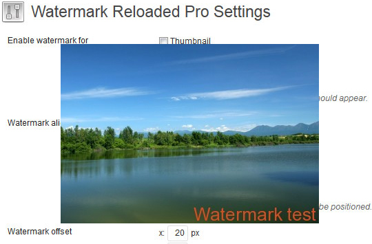 12 WordPress Plugins That Automatically Watermark Images on Your Blog 2