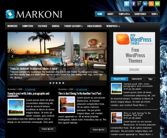 44 Premium Yet Free Wordpress Themes For Your Blog 13