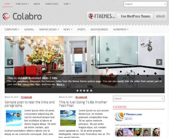 44 Premium Yet Free Wordpress Themes For Your Blog 8