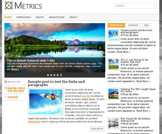 44 Premium Yet Free Wordpress Themes For Your Blog 33