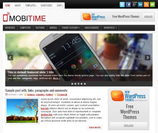 44 Premium Yet Free Wordpress Themes For Your Blog 35