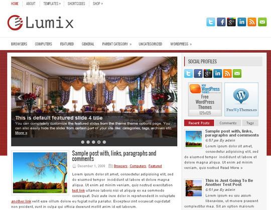 44 Premium Yet Free Wordpress Themes For Your Blog 38