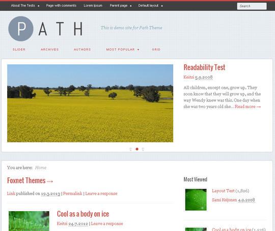 44 Premium Yet Free Wordpress Themes For Your Blog 40