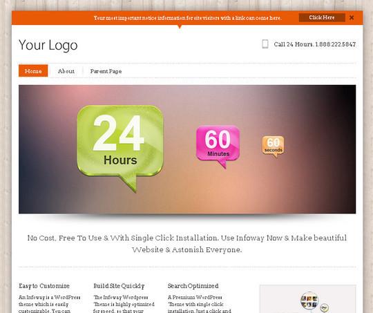 44 Premium Yet Free Wordpress Themes For Your Blog 41