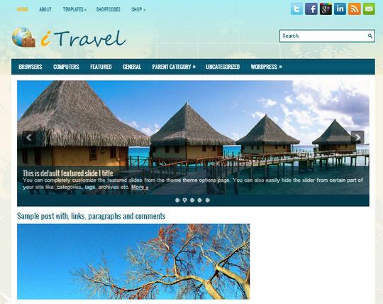 44 Premium Yet Free Wordpress Themes For Your Blog 15