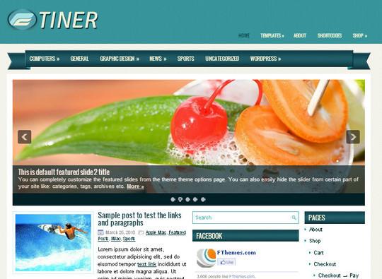 44 Premium Yet Free Wordpress Themes For Your Blog 43