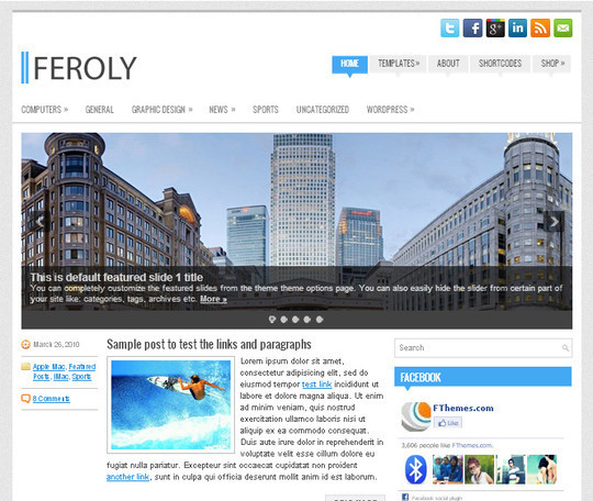 44 Premium Yet Free Wordpress Themes For Your Blog 44