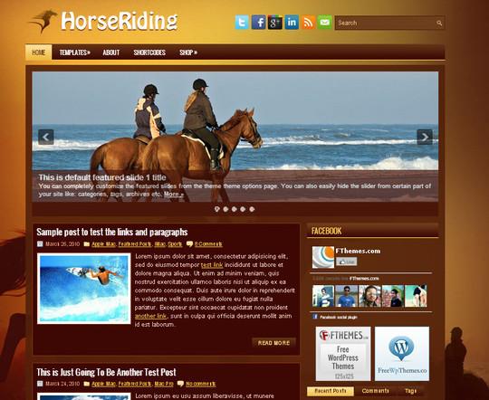 44 Premium Yet Free Wordpress Themes For Your Blog 26