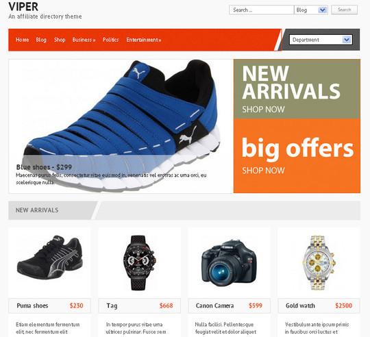44 Premium Yet Free Wordpress Themes For Your Blog 14