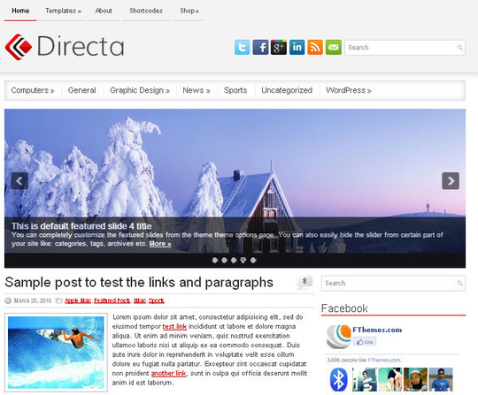 44 Premium Yet Free Wordpress Themes For Your Blog 32