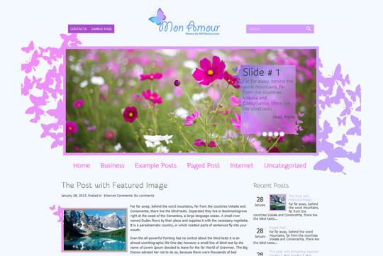 44 Premium Yet Free Wordpress Themes For Your Blog 34