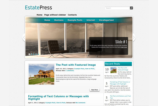 44 Premium Yet Free Wordpress Themes For Your Blog 31