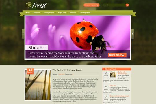 44 Premium Yet Free Wordpress Themes For Your Blog 3