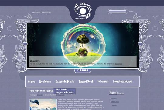 44 Premium Yet Free Wordpress Themes For Your Blog 4
