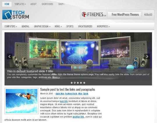 44 Premium Yet Free Wordpress Themes For Your Blog 21