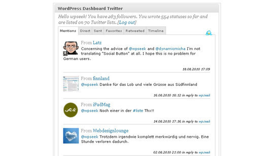 40 Best Twitter Plugins For WordPress Users 15