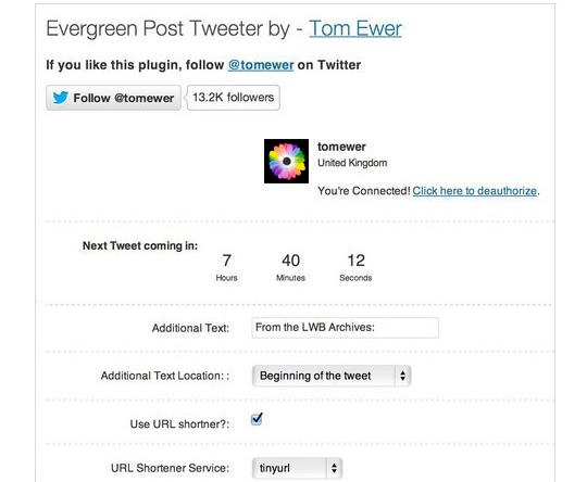 40 Best Twitter Plugins For WordPress Users 39