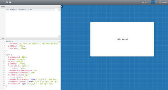 14 Online Code Editors For Web Designers And Developers 3